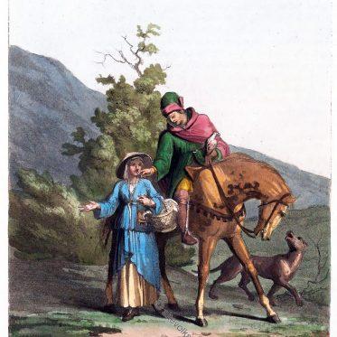 Reichsvogt von Landenberg. Schweiz 13. Jh.