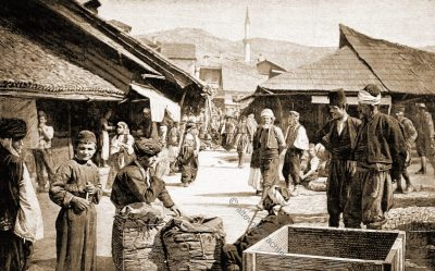 Basar, Sarajevo, Trachten, Bosnien, Herzegowina, Guillaume Capus, Reiseliteratur, Balkan