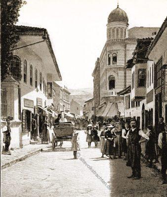 Sarajevo, Franz-Joseph Strasse, Trachten, Bosnien, Herzegowina, Guillaume Capus, Reiseliteratur, Balkan