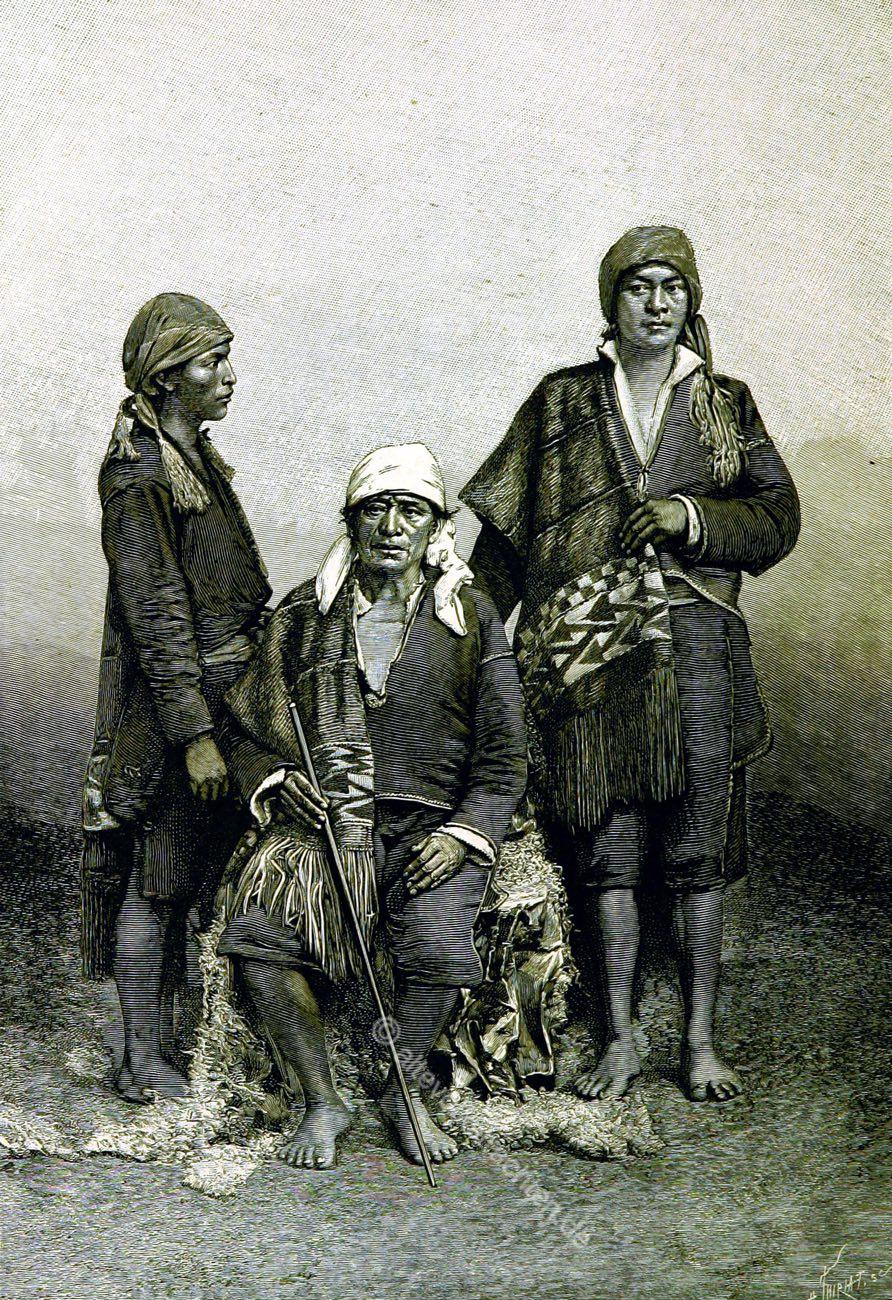 Tecpán, Guatemala, Trachten, Historie, Iximché, Indigen, Huipil, Maya, Élisée Reclus