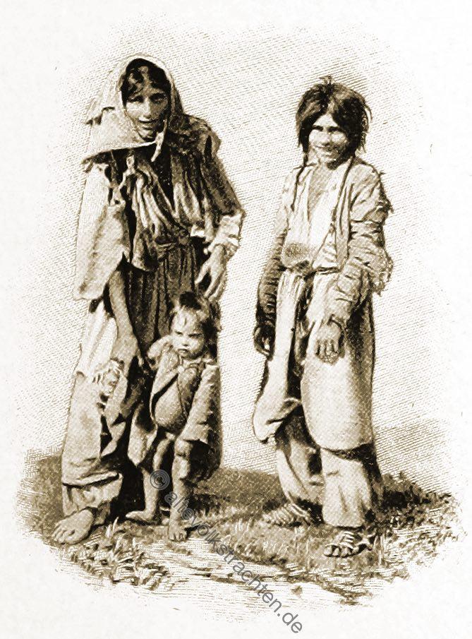 Zigeuner, Zigeunerkinder, Trachten, Bosnien, Herzegowina, Guillaume Capus, Reiseliteratur, Balkan