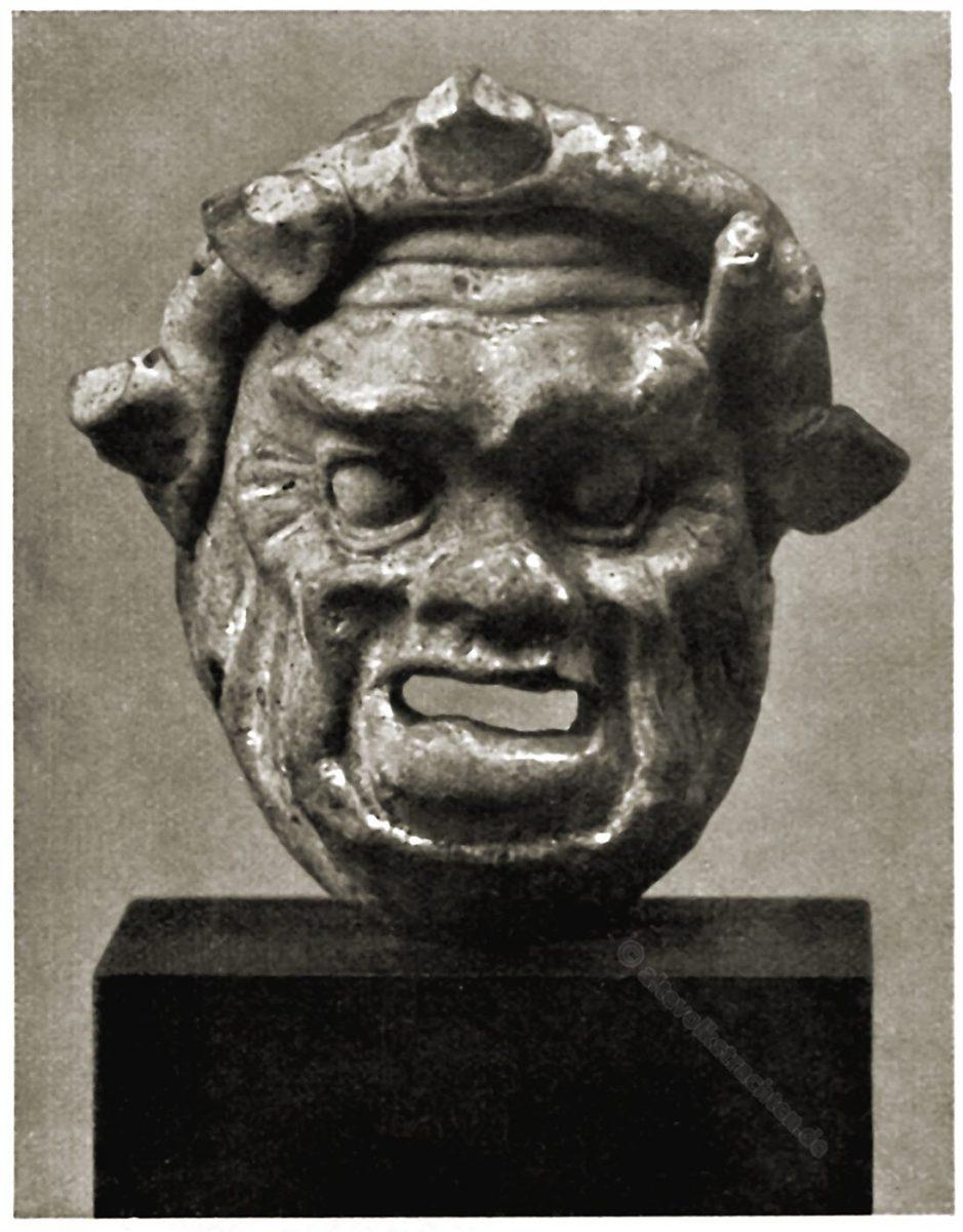 Antike, Maske, Masken, Italien, Terrakotten, Altes Museum, Berlin