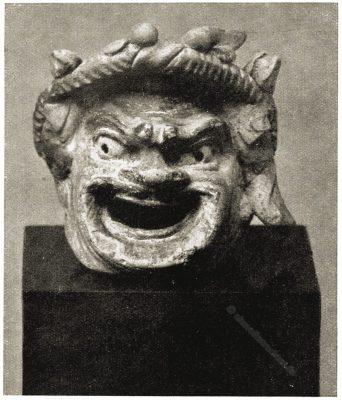 Antike, Maske, Masken, Griechenland, Terrakotten, Altes Museum, Berlin