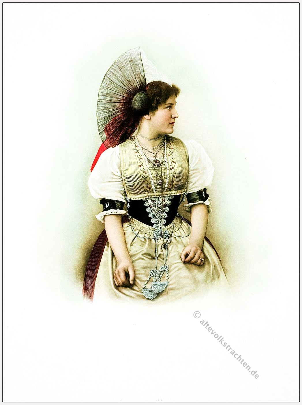 Innerrhoden, Trachten, Schweiz, Kostümgeschichte
