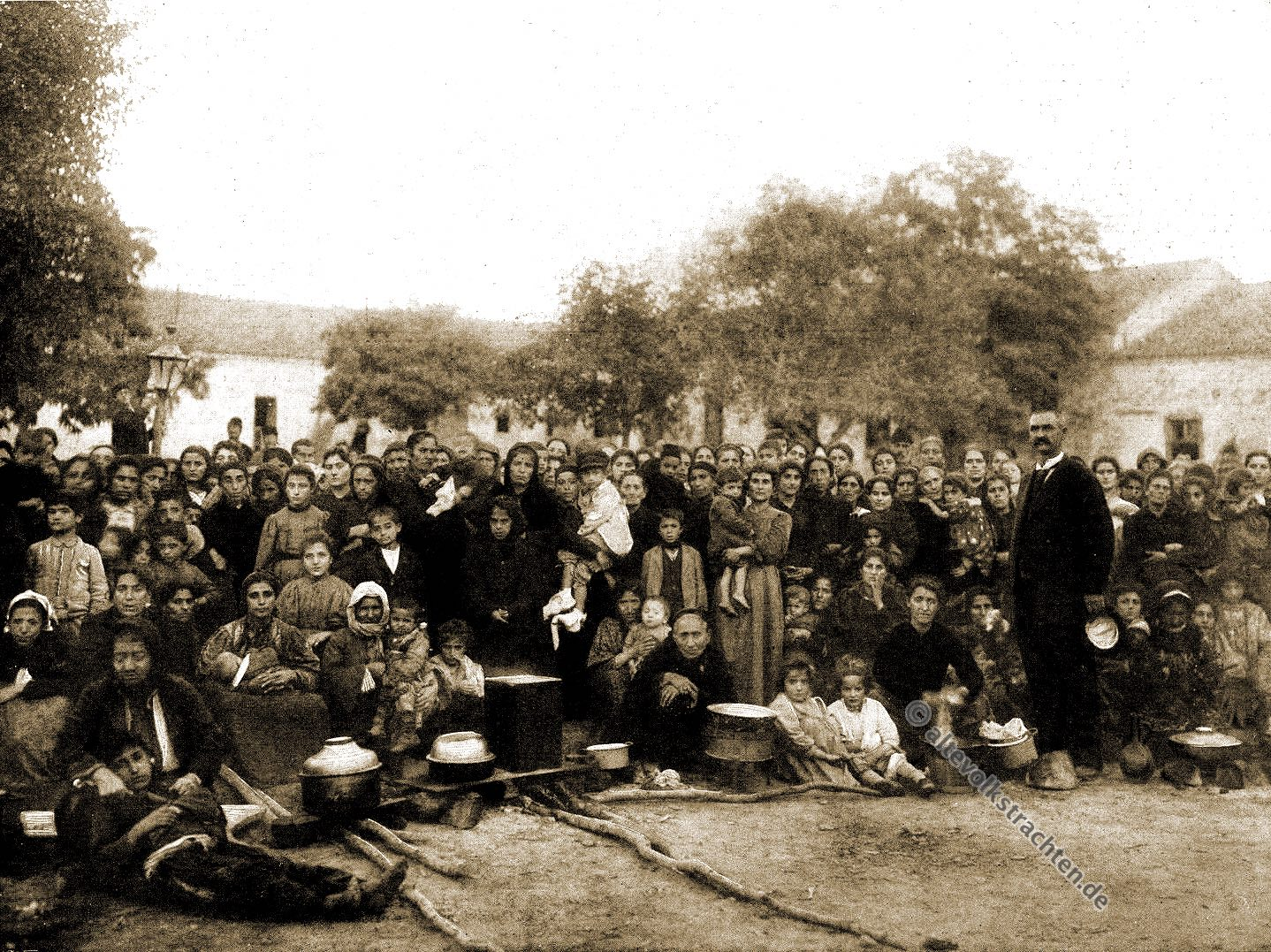 Armenien, Flüchtlinge, Warna, Bulgarien, Marquis Dufferin Ava, Genozid, Völkermord