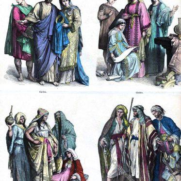 Christen und Araber des 4. bis 6. Jahrhunderts.