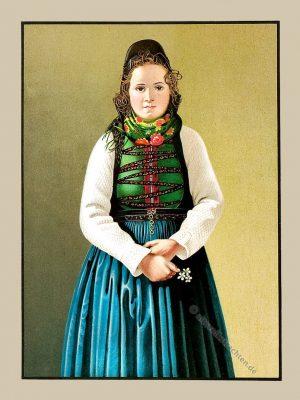 Steffenberg, Eisenhausen, Hessen, Trachten, Trachtenbuch, Volkstracht, Deutschland, Folklore