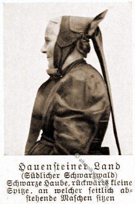 Trachtenhaube, Haube, Hauenstein, Schwarzwald, Baden-Württemberg, Rose Julien, Volkstrachten