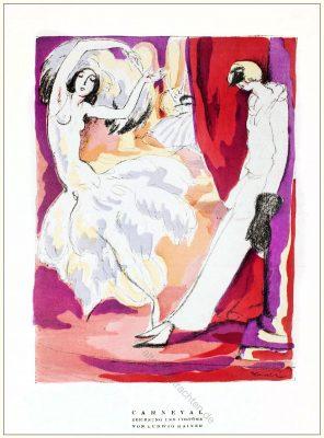 Karneval, Kostüme, Ludwig Reiner, STYL, Modemagazin, 1920er, Modegeschichte, Art deco,