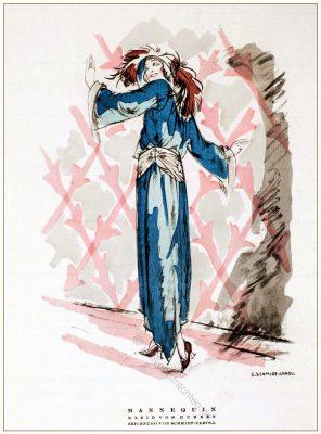 Kostüme, Kuhnen, Erna Schmidt-Caroll, STYL, Modemagazin, 1920er, Modegeschichte, Art deco,