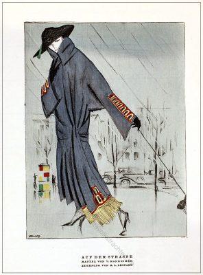 Valentin Mannheimer, Mantel, Leonard, Kostüme, STYL, Modemagazin, 1920er, Modegeschichte, Art deco,
