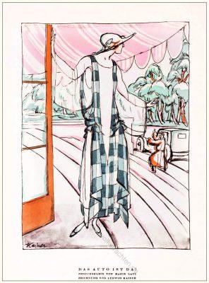 Kostüme, Marie Latz, Ludwig Kaiser, STYL Modemagazin, 1920er, Modegeschichte, Art deco,