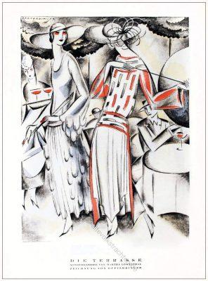 Sommerkleider, Martha Löwenthal, Annie Offterdinger, STYL Modemagazin, 1920er, Modegeschichte, Art deco,
