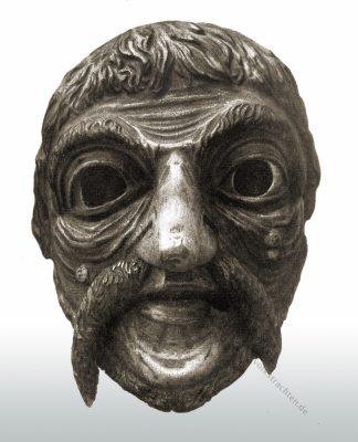 Maskera, Larven, Fastnacht, Holzmaske, Maske, Oberbayern, Partenkirchen, Folklore, Brauchtum, Maschkera,