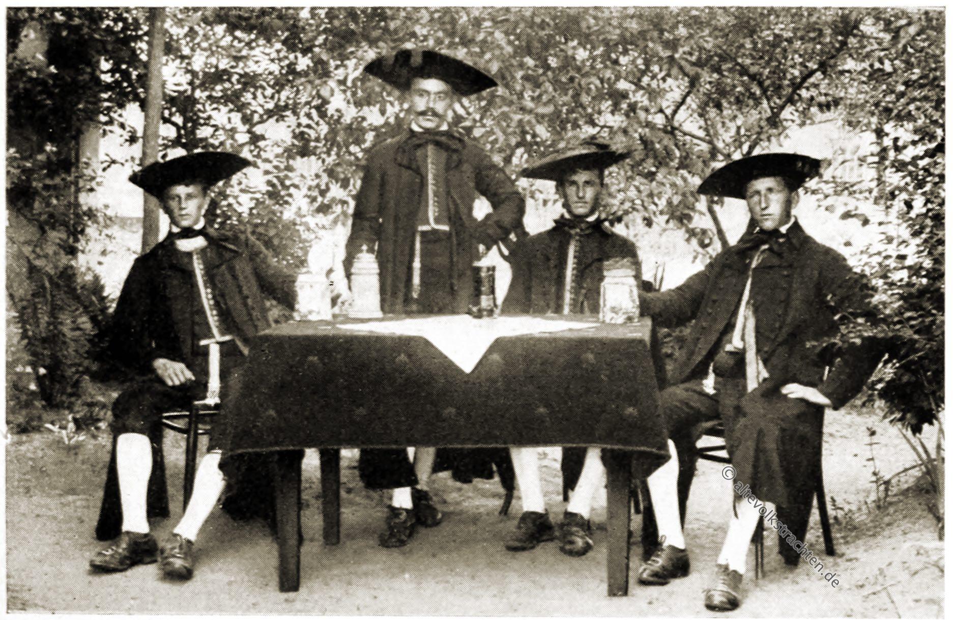 Oberfranken, Effeltricht, Bauerntrachten, Trachten, Rose Julien, Deutsche Volkstrachten,