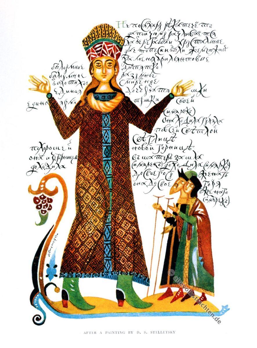 Dimitri Semjonowitsch Stsyaletski, Russland, Kunst, Illustration, Winifred Stephens, Volkskunst, Folklore