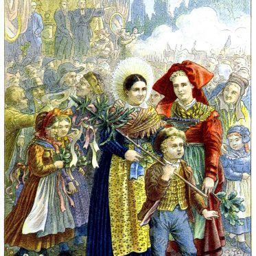 Das Fest der Föderation in Straßburg