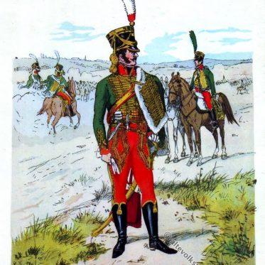 Grossherzoglich Badisches Husaren-Regiment, 1812.