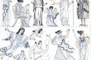 Antike, Griechenland, Auguste Racinet, Kostümgeschichte, Modegeschichte