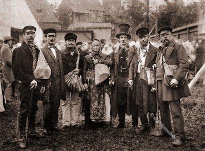 Erzgebirge, Spielwaren, Händler, Sachsen, Trachten, Volkstrachten