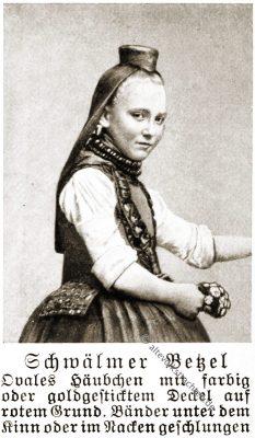 Schwälmer Betzel, Schwalm, Tracht, Hessen, Volkstrachten, Rose Julien