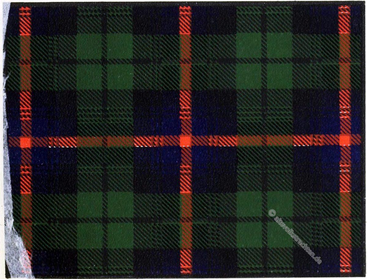 Urquhart, Clan, Tartan, Jagd, Highlands, Scotland, Schottland