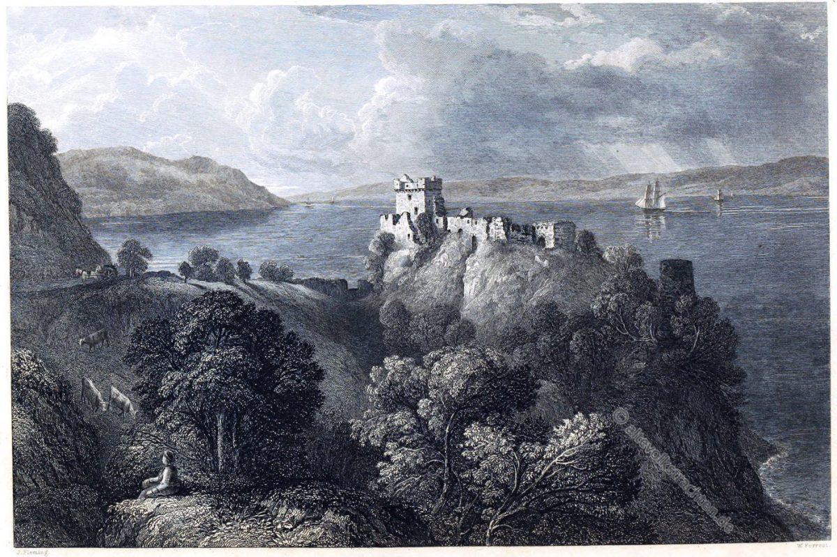 Castle Urquart, Loch Ness, Scotland,