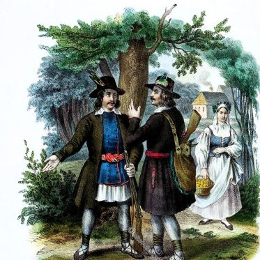 Kurpie. Polnische Landleute aus der Gegend von Ostrolenka