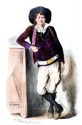 Châteaulin, Finistère, Bretagne, Costumes, Trachten