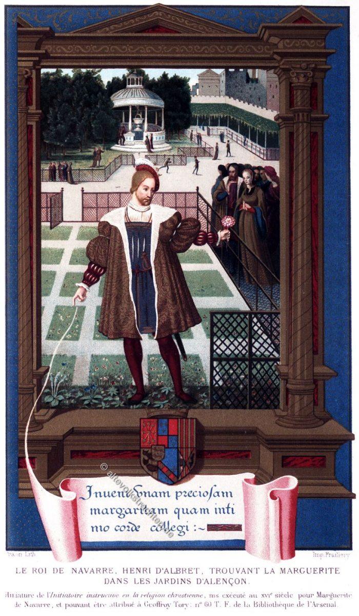 Henri d'Albret, Roi, Navarre, Renaissance,