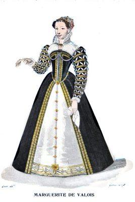 Marguerite, Margot, Valois, Margaret, Kostüm, Barock, Frankreich