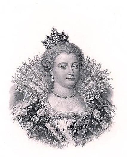 Maria de' Medici (26. April 1575 Florenz; † 3. Juli 1642 in Köln) war Königin von Frankreich als zweite Frau von König Heinrich IV. von Frankreich, des Hauses Bourbon