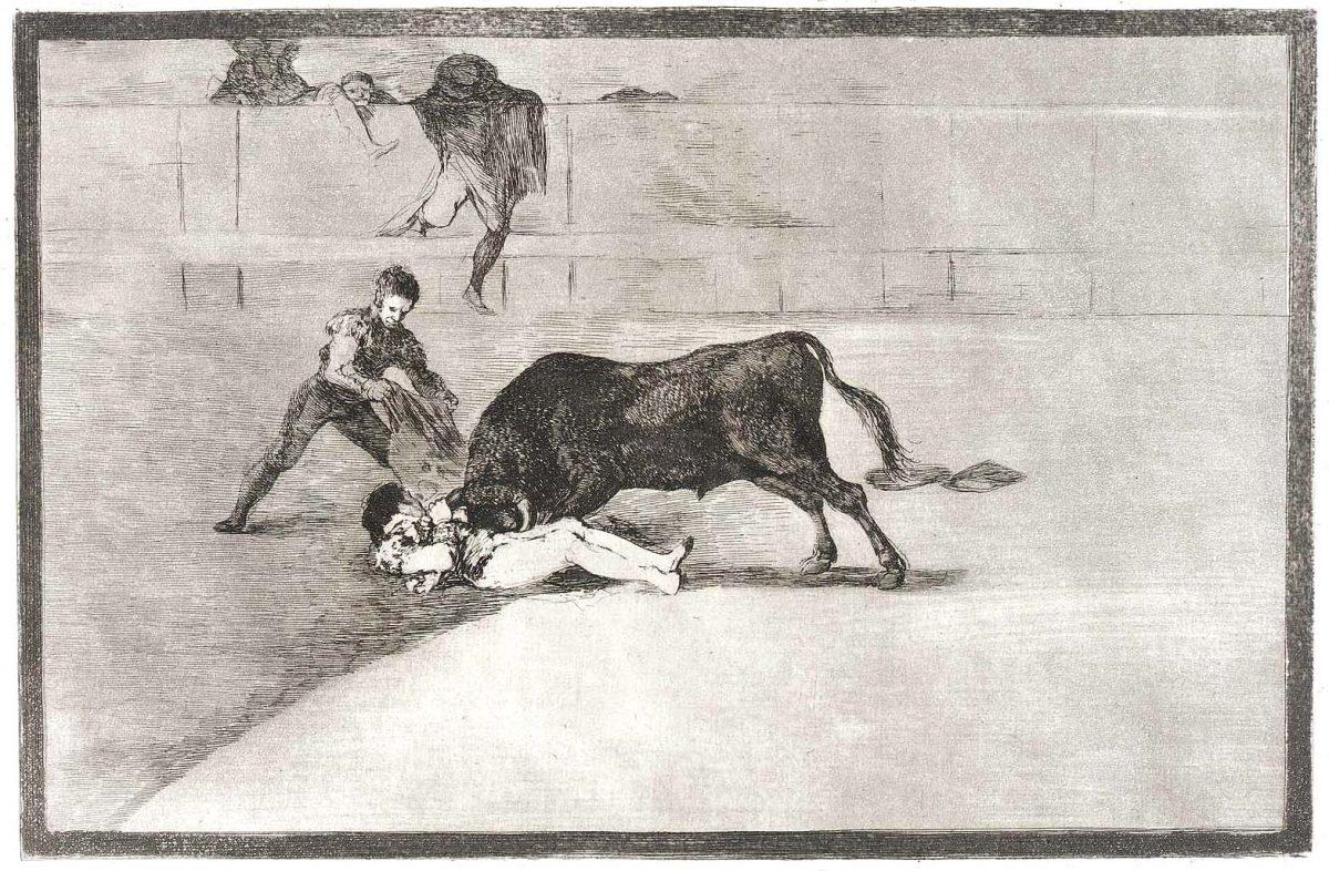 Pepe Illo, Francisco Goya, Stierkampf, Tauromaquia