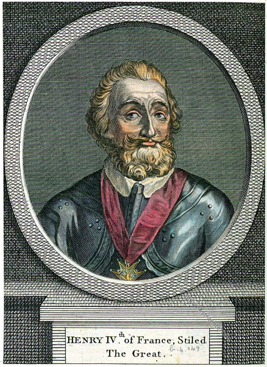Heinrich, IV, König, Frankreich, Portrait