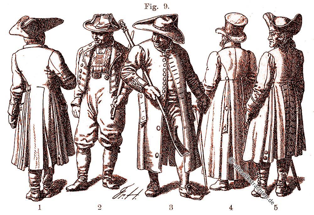 Schaube, Justaucorps, Wams, Mode, 16. Jahrhundert, Friedrich Hottenroth