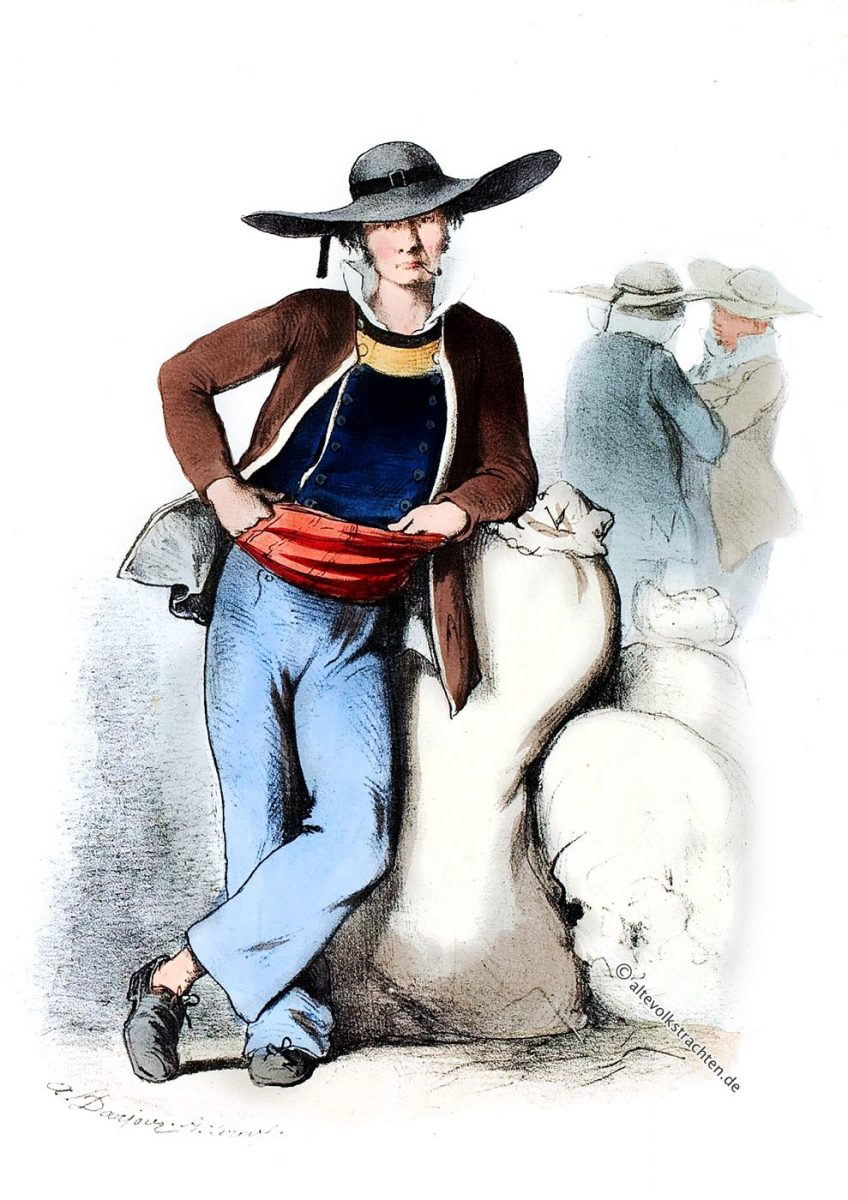 St. Brieuc, Kostüm, Tracht, Bretagne, Costume