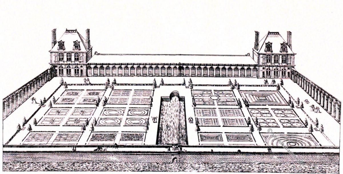 Vallery, Androuet DuCerceau, Bastiments, France, Rennaisance, Architecture, August Grisebach,