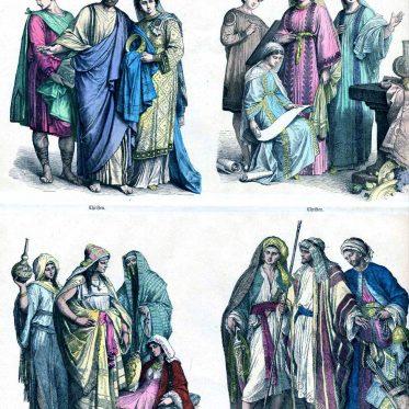 Kleidung der Christen und Araber vom 4. - 6. Jh.