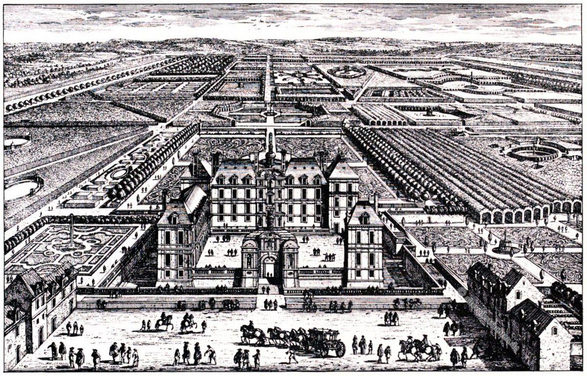 Schloss, Liancourt, Renaissance, Kupferstich, Gabriel Perelle, August Grisebach,