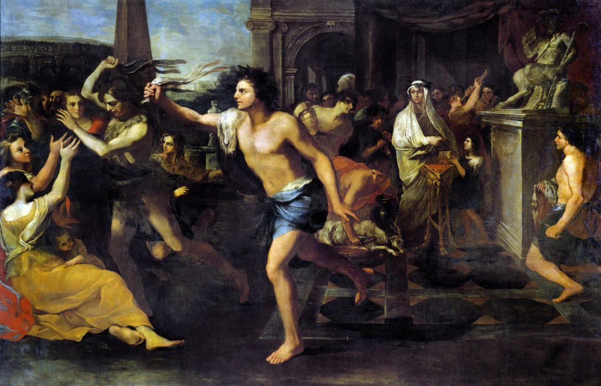 Lupercalia, Lupercale, Andrea Camassei, Reinigungsritual, Römisch, Antike, Fiestas Lupercales