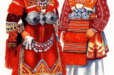 Mazedonien, Moruovsko, Smilevo, Bitola, Vladimir Kirin, Srpske, nacionalne, kostime