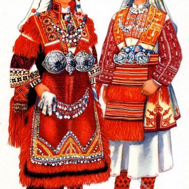 Trachten aus Smilevo - Bitola,Mazedonien.