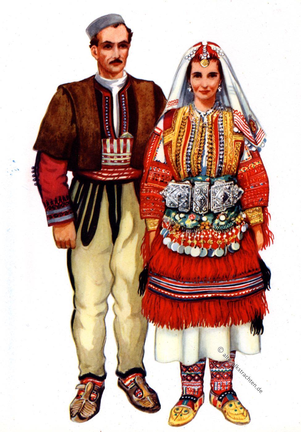 Mijaks, Mazedonier, Galičnik, Mazedonien, Trachten, Kleidung, Kostüme, Vladimir Kirin, Srpske, nacionalne, kostime