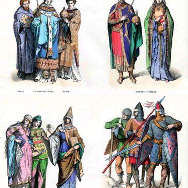 Franken, Normannen, Kreuzritter. 11. Jahrhundert.