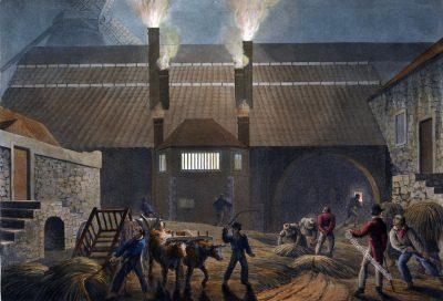 Siedehaus, Zuckerrohrfabrik, Sklaven, Zuckerrohr, Plantage, Antigua, Kolonialismus, Bermudas, Karibik