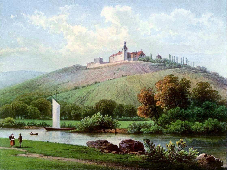 Schloss, Zscheiplitz, Sachsen-Anhalt, Freyburg, Unstrut, Burgenlandkreis, Benediktinerkloster