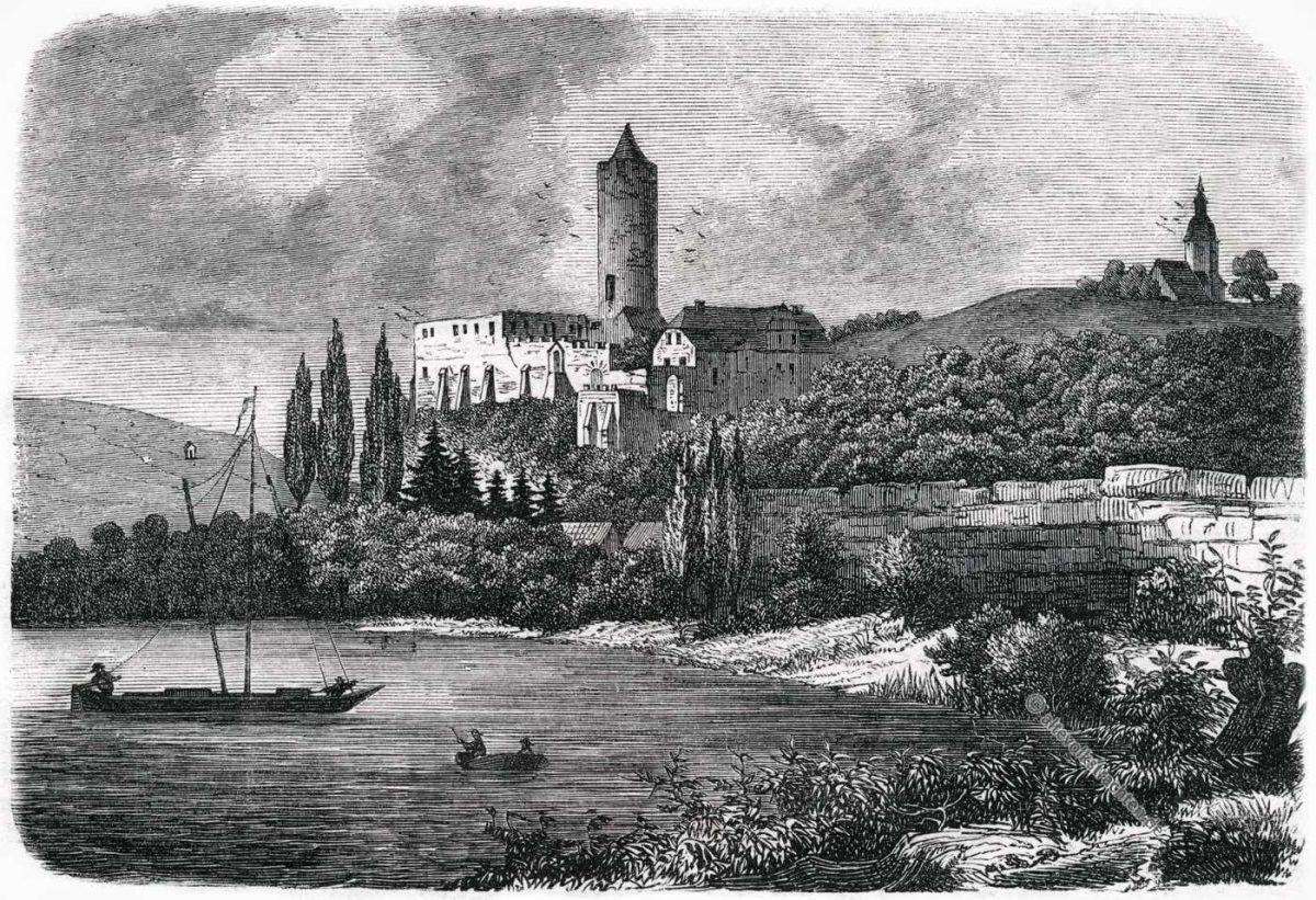 Schönburg, Saale, Romanik, Mittelalter, Architektur, Thüringen, Sachsen-Anhalt, Naumburg