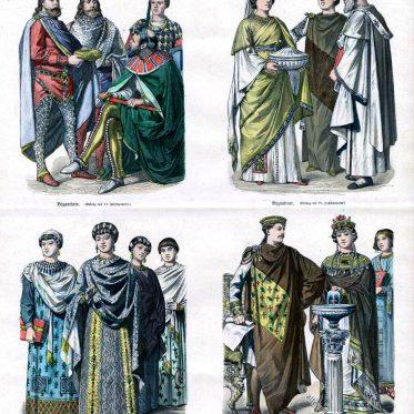 Kaiserin Theodora, Kaiser Justinian. Byzanz 6. Jahrhundert.