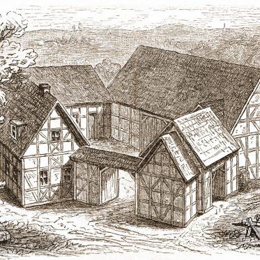 Thüringisch-fränkischer Bauernhof.