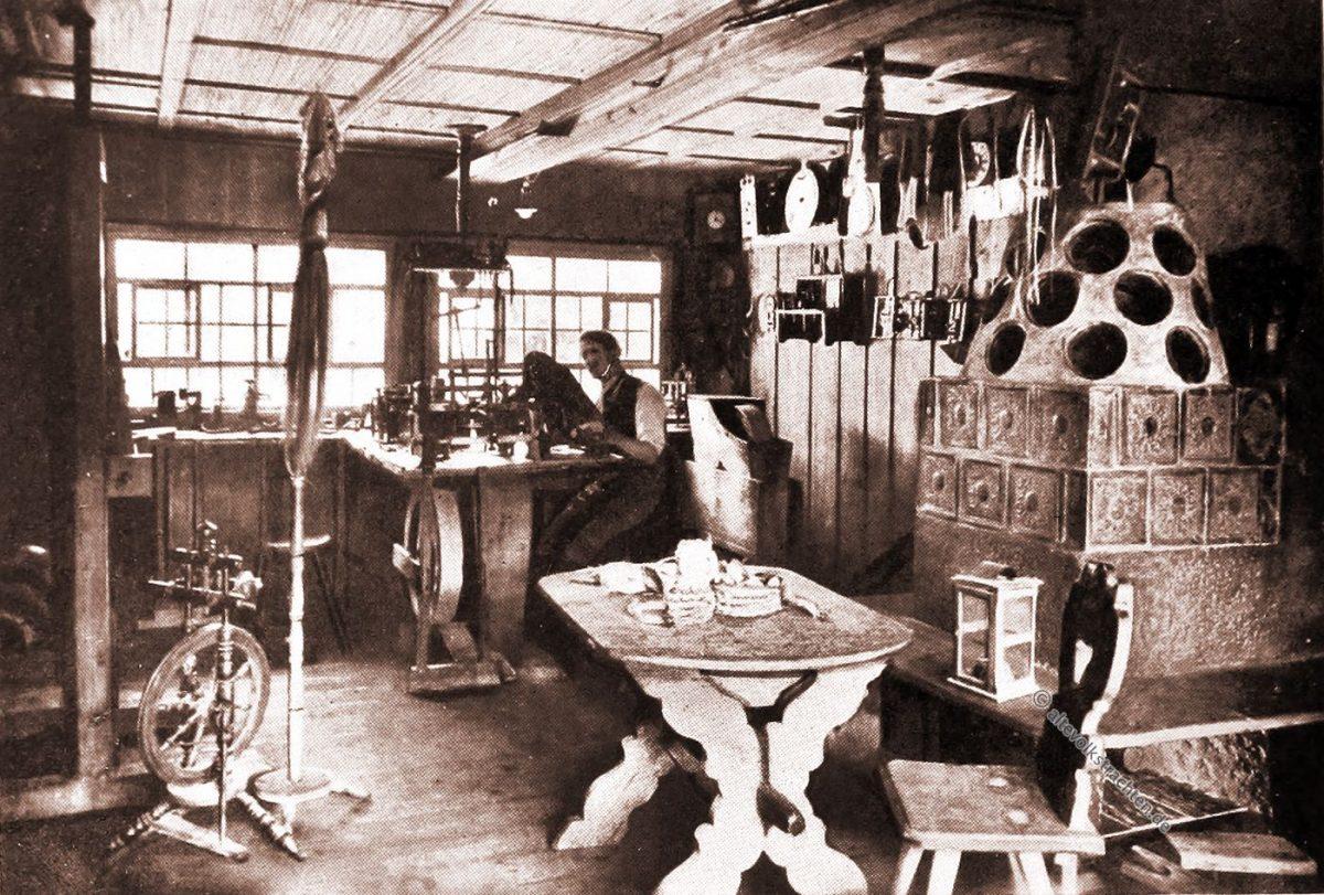 Uhrmacher, Uhrenwerkstatt, Schwarzwald, Werkstatt,